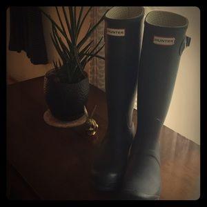 "Hunter Tall Wellington ""Wellies"" Rain Boots"